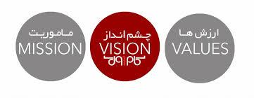 پاورپوینت بیانیه ماموریت، چشم انداز، ارزش ها
